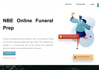 NBE Online Funeral Prep
